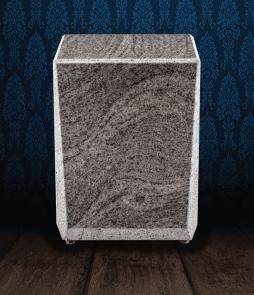 Urna cineraria in pregiato granito Gran Paradiso