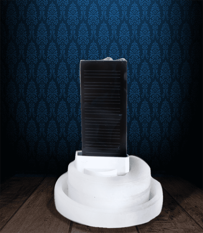 Candela perenne ad energia solare