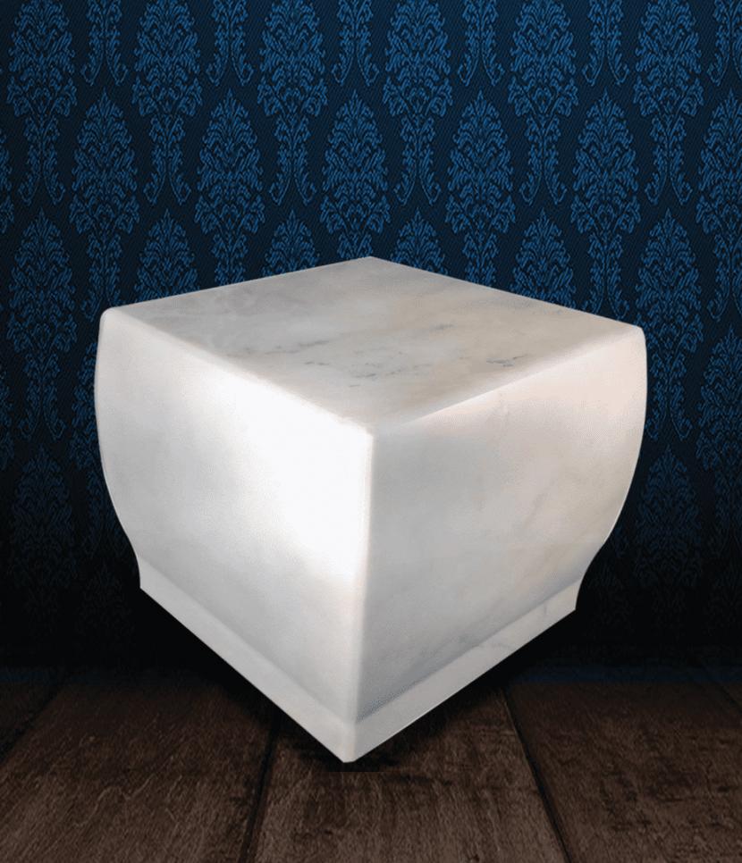 Urna Cineraria in pregiato Marmo Bianco Statuario
